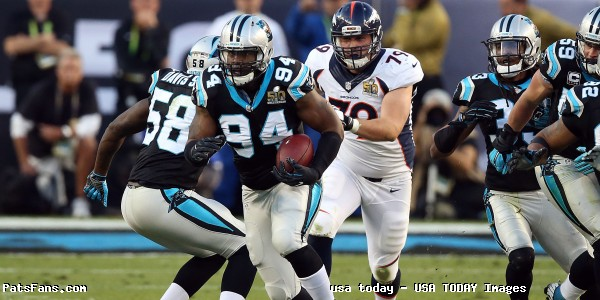 National Football League  trade rumors: Patriots reportedly acquire DE Kony Ealy from Panthers