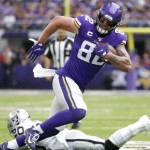 Tight end Kyle Rudolph reportedly interested in joining Patriots