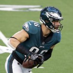 Report: Eagles could trade TE Zach Ertz; are Patriots a fit?