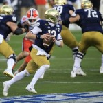 NFL Draft: Notre Dame QB Ian Book believes he excels in the stat that matters — winning - The Boston Globe