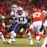 David Andrews has the funniest reaction to reuniting with Trent Brown