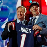 Which colleges have the New England Patriots drafted from most?