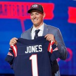 Get a first look at Mac Jones and other rookies at Patriots practice