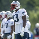Patriots training camp notebook: Nelson Agholor ends standout week in style