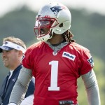 Patriots training camp notebook: Cam Newton shows the starting job is his to lose