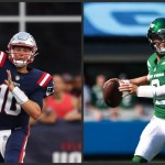 Battle of rookie QBs as Patriots, Jets seek 1st win Sunday