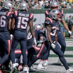 How Mic'd-Up Patriots Sideline Sounded During Damien Harris TD Run