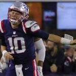 Mac Jones is getting knocked down, but he keeps getting up and giving the Patriots a fighting chance