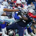 The Cowboys outplayed the Patriots...Literally