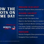 How to Watch/Listen: Jets at Patriots