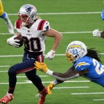 Chargers aim to avenge December disaster vs. Patriots