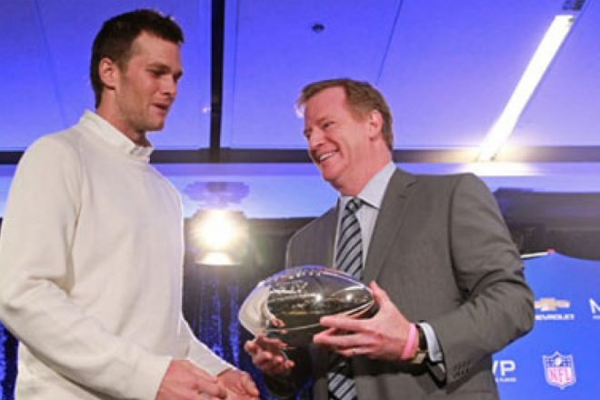 Super Bowl Pregame Dog and Pony Show, it is Brady's Decision