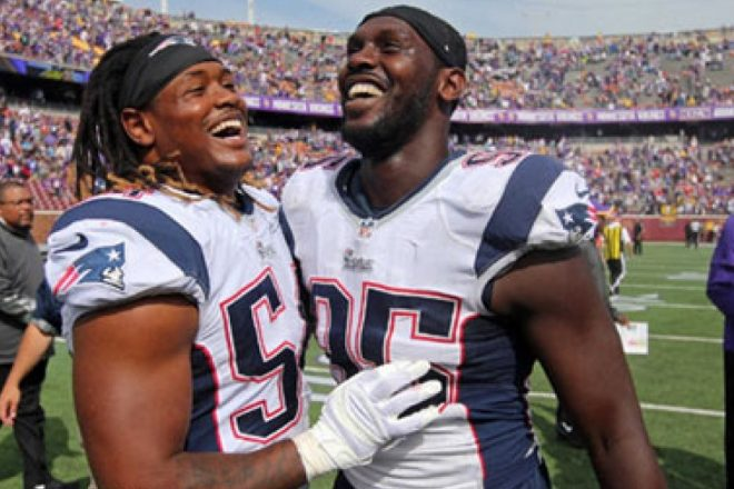 """Former DE Jones Says Patriots """"Not known for really paying guys over there"""""""