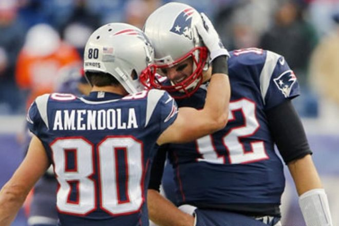 INSIDE THE NUMBERS: Amendola Has Been Brady's Most Reliable Target