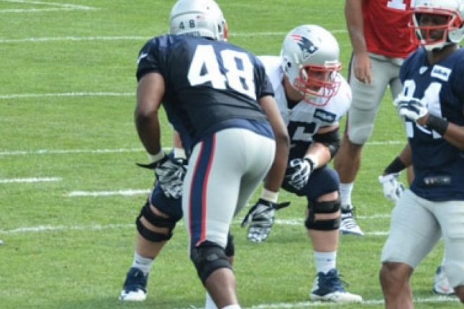 Patriots Training Camp Report: Rookies Grissom, Flowers Ahead of the Curve