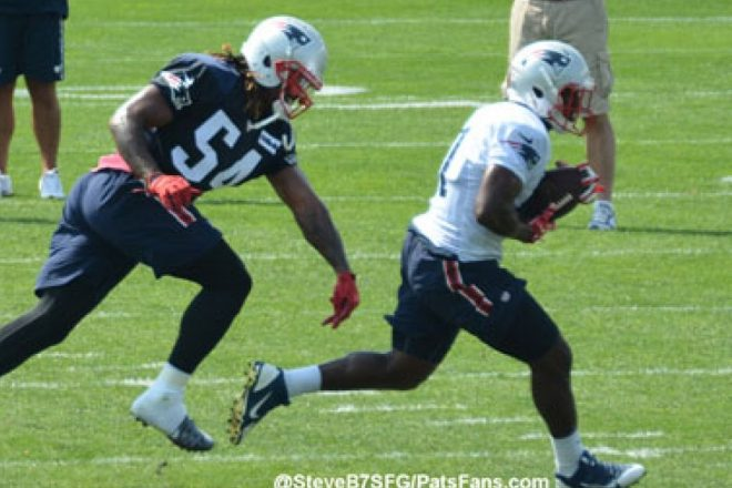 Patriots Training Camp Report:  Heat and Tempers Rise Saturday