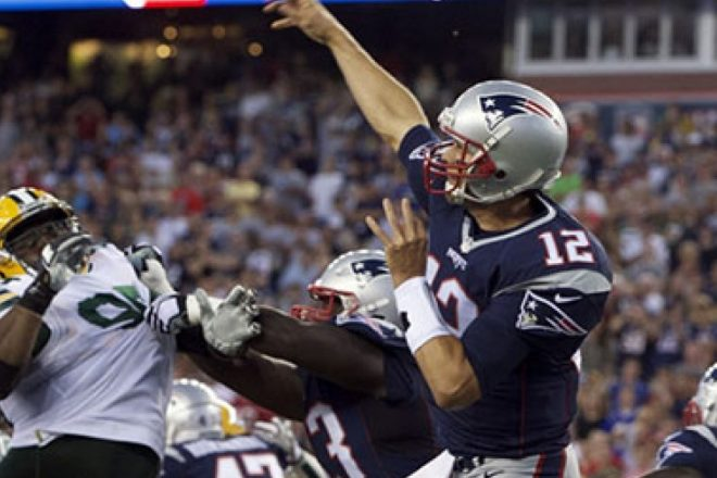 No Triumphant Return For Brady, But QB Gets Some Work and Leaves Healthy