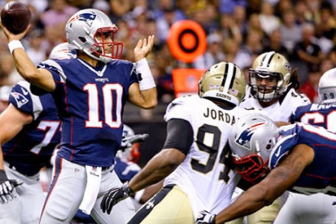Quick Reactions, Garoppolo, Harper Shine, Patriots – Saints Preseason Game 2