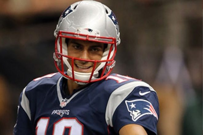 Patriots: No Distractions Here, Garoppolo Preps a Day at a Time