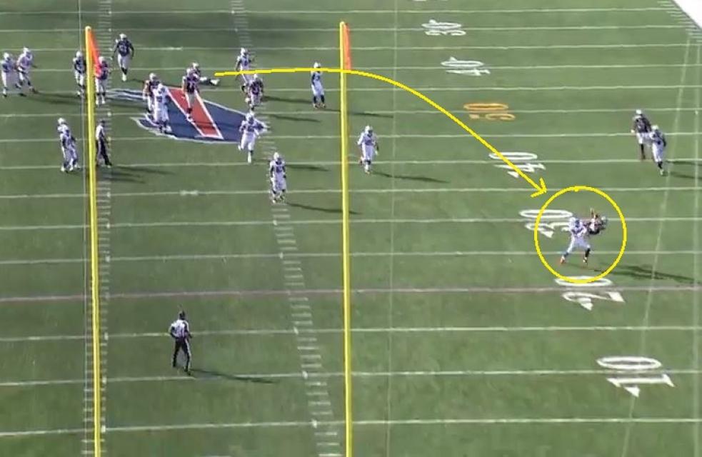 Danny Amendola 17 yard catch