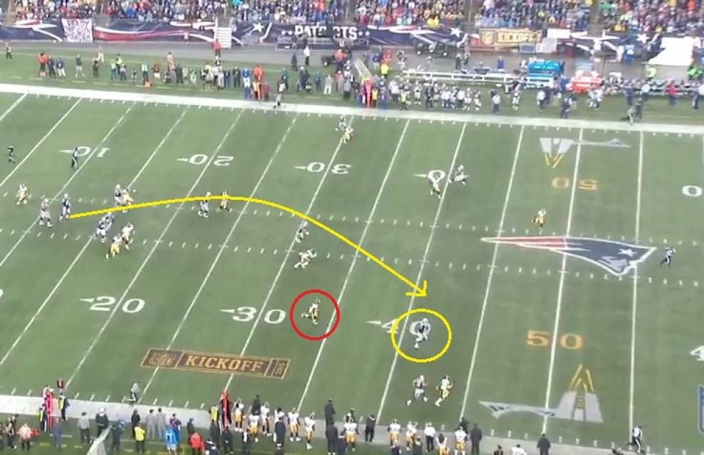 Gronk 52 yards deep right2