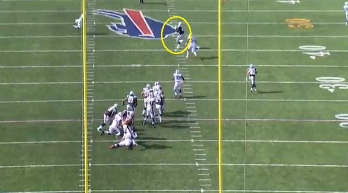Gronk Bills 28 yards deep middle2
