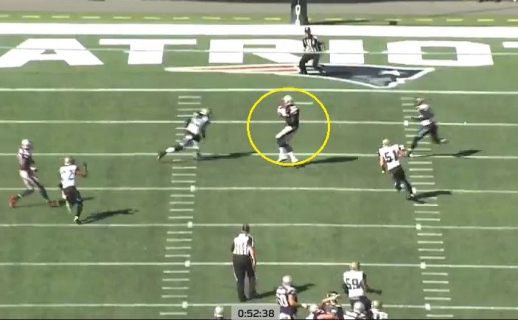 Gronk Jags 27 yards deep middle2