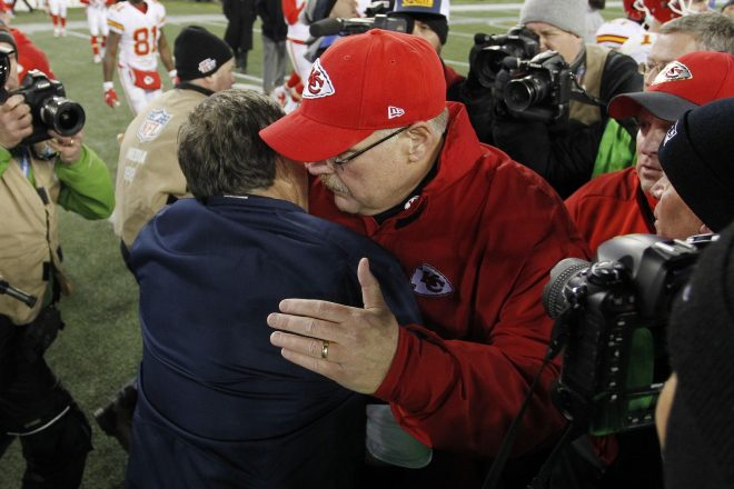 Andy Reid on the Patriots: 'A Great Example of Where We Need to Be'