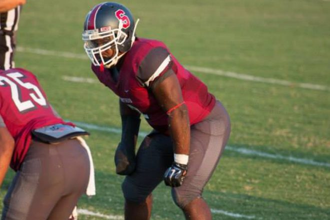 Larry Butler III Interview, Small School Stud LB, Perfect Patriot Fit