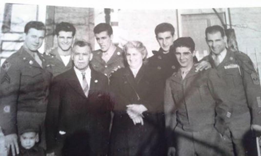 Balestrieri family WWII