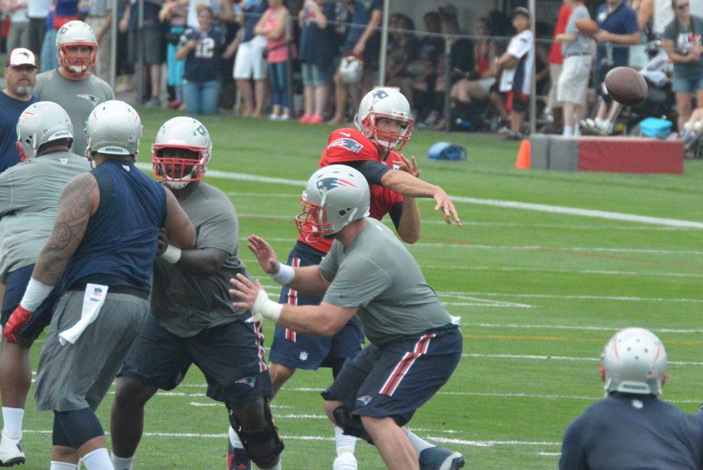 Brady lets it fly