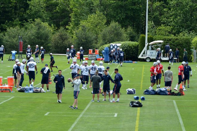Patriots Fourth And Two Podcast: End Of Mini-Camp Thoughts From Miguel Benzan