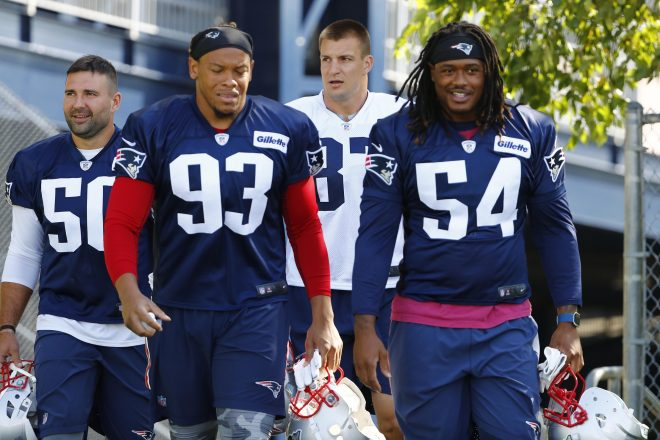 New England Patriots Training Camp Observations 8-5