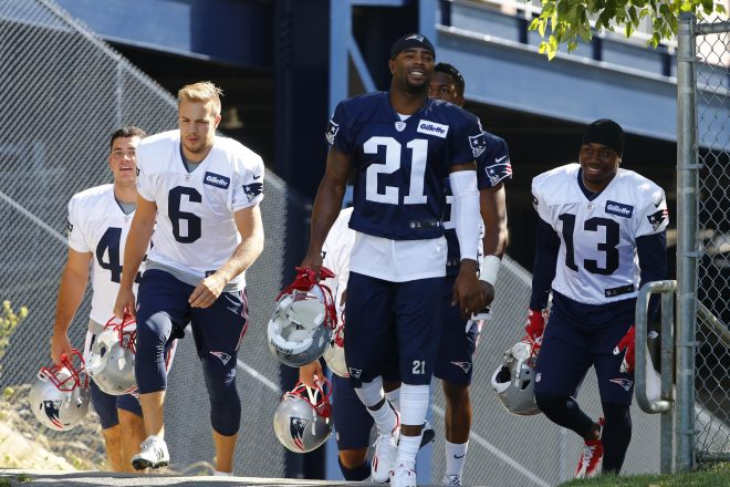 PHOTO: Malcolm Butler Donates Equipment To His Former College