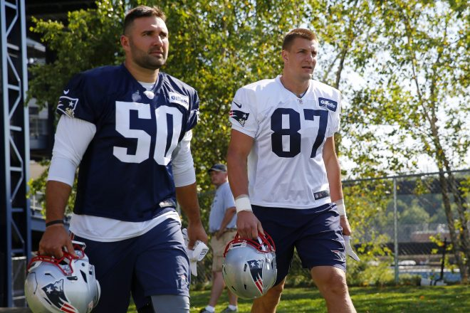 Rob Ninkovich is in Unchartered Waters, Working His Way Back