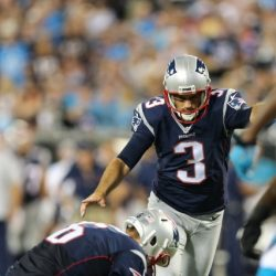 Stephen Gostkowski Named AFC Special Teams Player of the Week