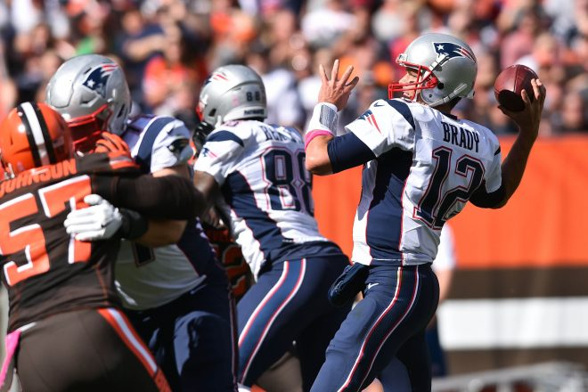 Tom Brady Named AFC Offensive Player of the Week Following Season Debut
