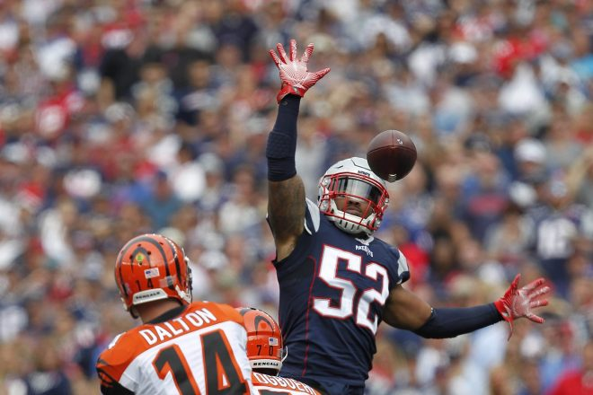 Patriots Defense Is Changing, But Not Against Wilson
