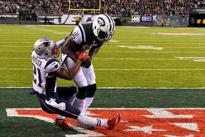 Unlike Revis, Marshall Doesn't Want to Win a Super Bowl with the Patriots
