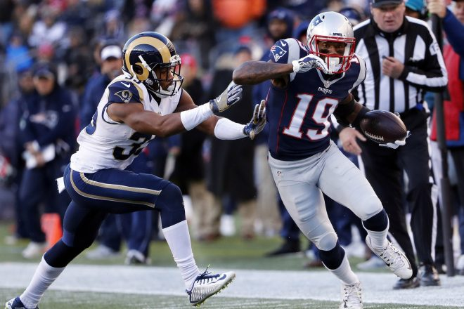Patriots Release Wide Receiver Malcolm Mitchell