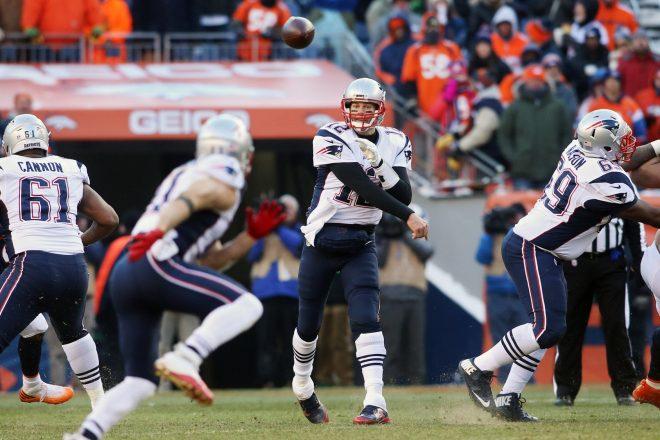 Total Team Effort Pushes Patriots Past Broncos, Clinch AFC East