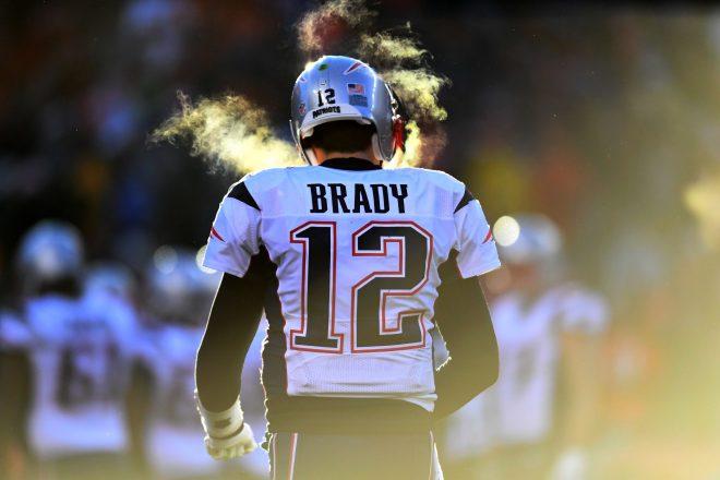PHOTO: Tom Brady Provides Inspiration For Final Round Of NFL Draft