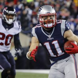 Julian Edelman Shares Photos of Workouts With Cam Newton, Rest Of Patriots WR Corps