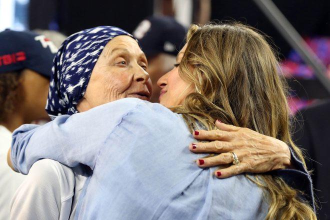 ICYMI: Robert Kraft Gifts Tom Brady's Mother A Super Bowl Ring