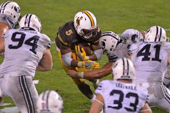 Patriots Draft Profile, Wyoming RB Brian Hill