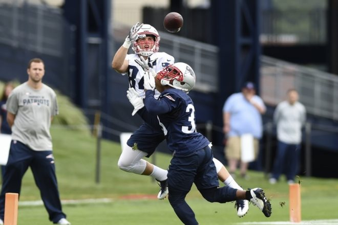 Patriots Training Camp Practice #7 A Day for the Backups
