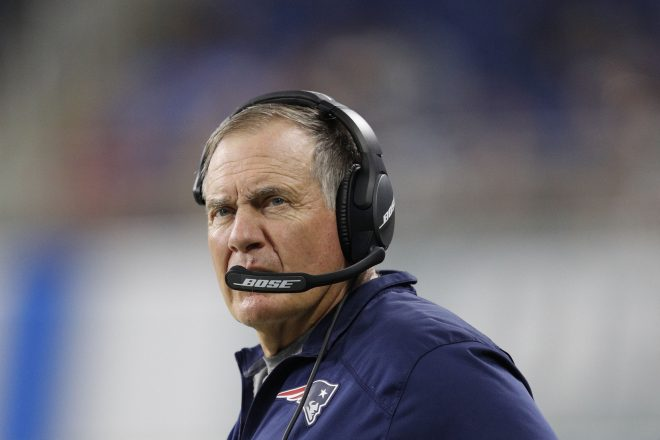 Belichick Sends Well Wishes to Victims Of Hurricane in Houston
