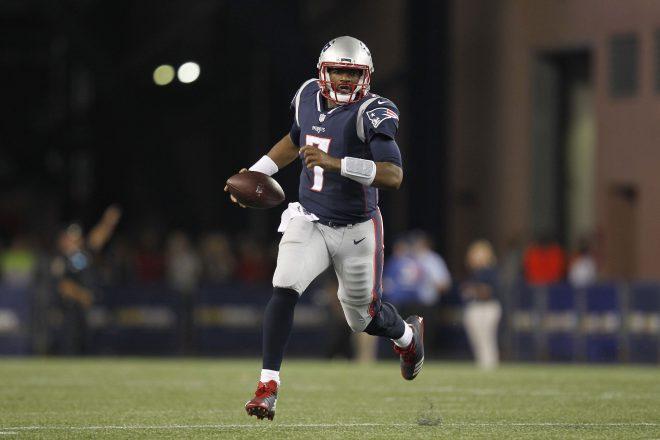 Patriots Brissett Finally Takes Next Step vs Giants