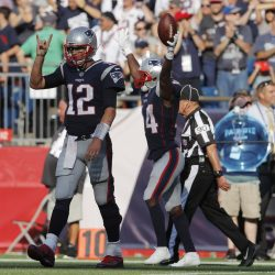Brady, Cooks Bail Out Patriots With Last Minute Heroics
