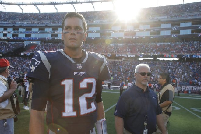 Tom Brady Named AFC Offensive Player of the Week